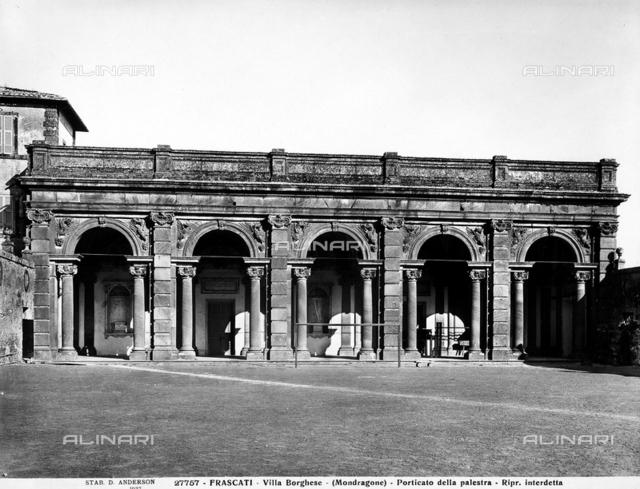 Portico, Villa Mondragone, Frascati
