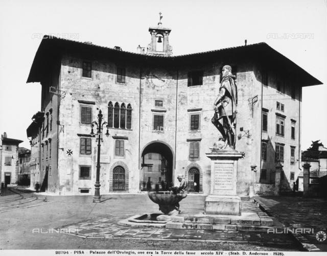 The Clock Palace, Cavalieri Square, Pisa
