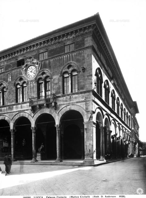 Palazzo Pretorio, Lucca.
