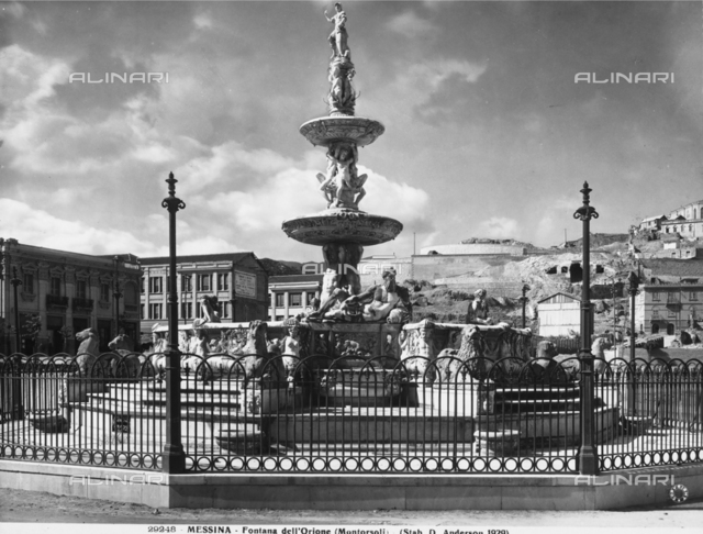 The Orion Fountain - Piazza del Duomo, Messina