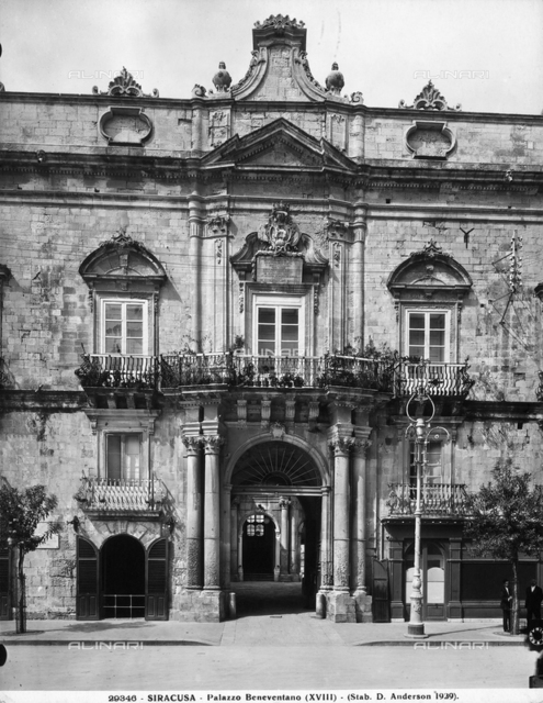 Faà§ade, Palazzo Beneventano del Bosco, Syracuse