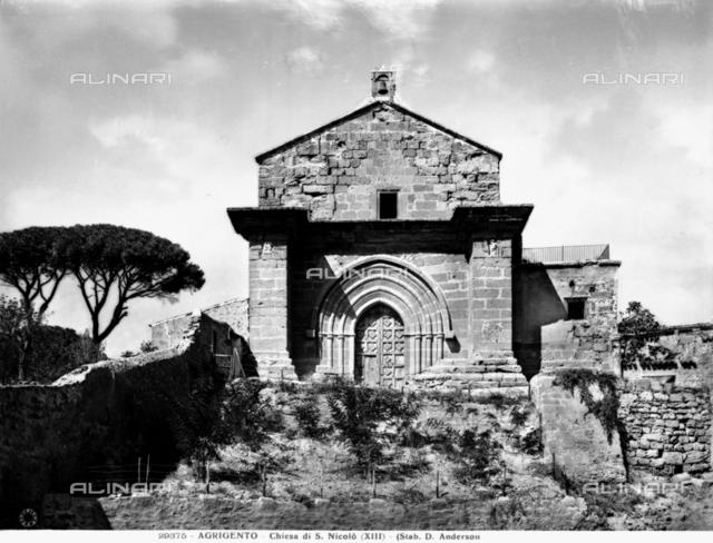 Faà§ade, Church of San Nicola, Agrigento