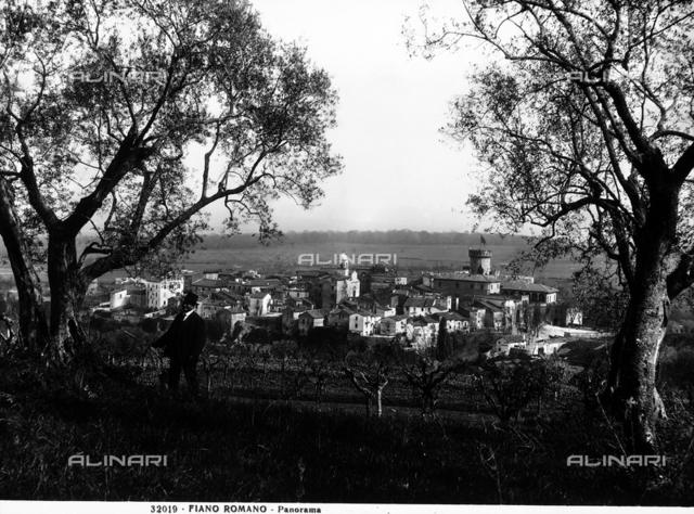Panorama of Fiano Romano