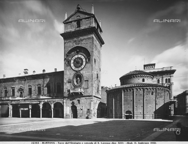 Clock tower, Mantua
