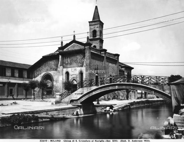 Church of San Cristoforo sul Naviglio, Milan