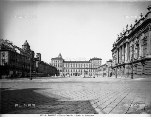 Piazza Castello, Turin.