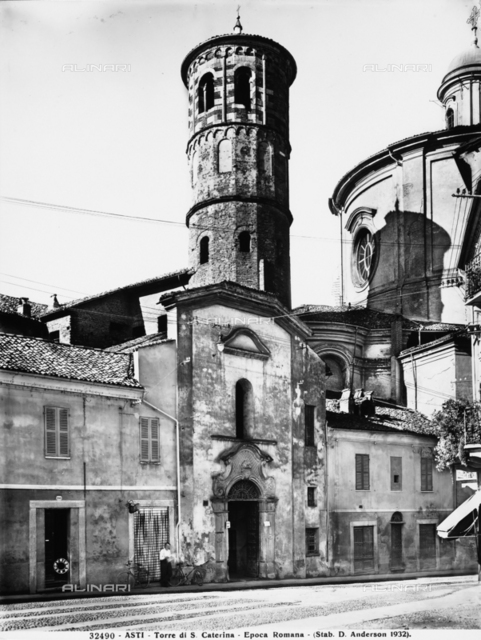 Red Tower or Tower of San Secondo, Asti