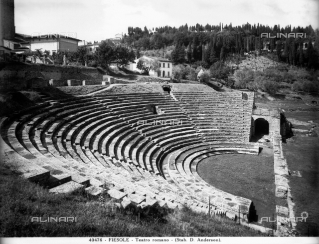 Roman Theater, Fiesole, Florence