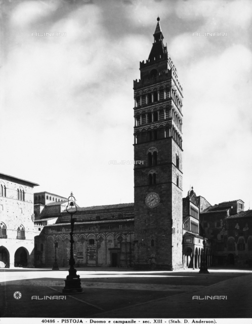 Cathedral bell tower, Pistoia