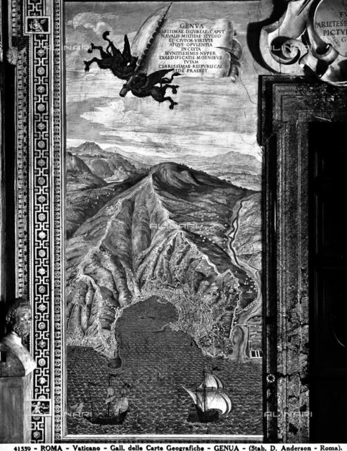 Genoa, Gallery of Maps, Vatican Museums, Vatican City