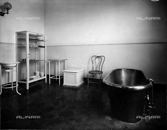 Physiotherapy room in the Villa Paoletti Doty