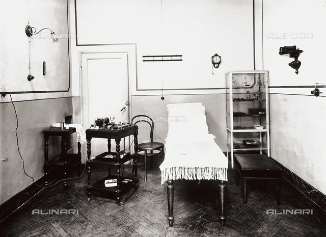 The Gabrielli Physiotherapeutic Institute in Florence: treatment room