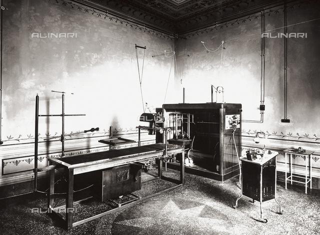 Hospital, former Villa Pisa in Fiesole: the laboratory