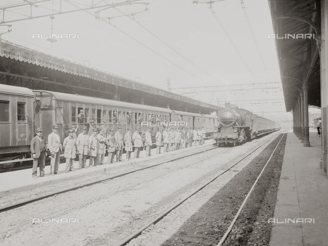 The old train station of Florence