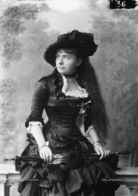 Portrait of signora Van Vackstan