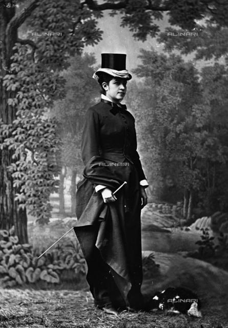 Portrait of signora Miramotes