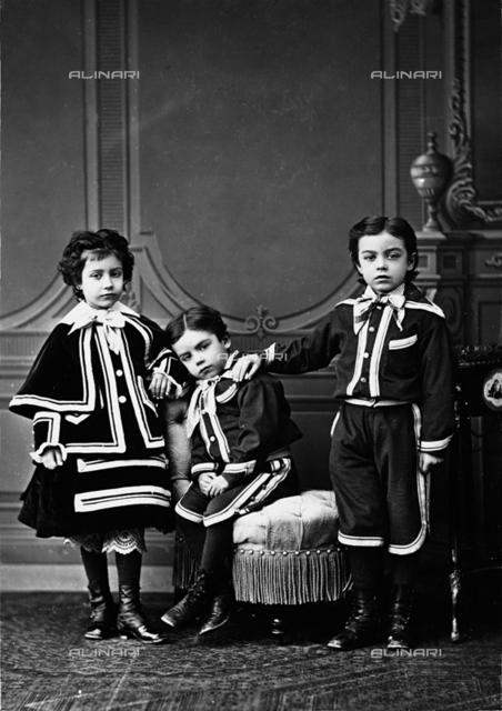 Portrait of the Orsini children
