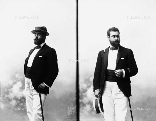 Portrait of Giorgio Manfredi d'Angrogna Luserna, Count of Luserna (1863-1915)