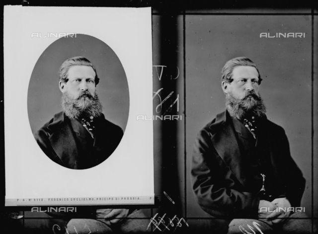 Portrait of Prince Frederick William of Prussia, multiple image