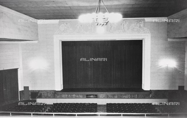 Interior of the Cinema Eden Theater in Viareggio