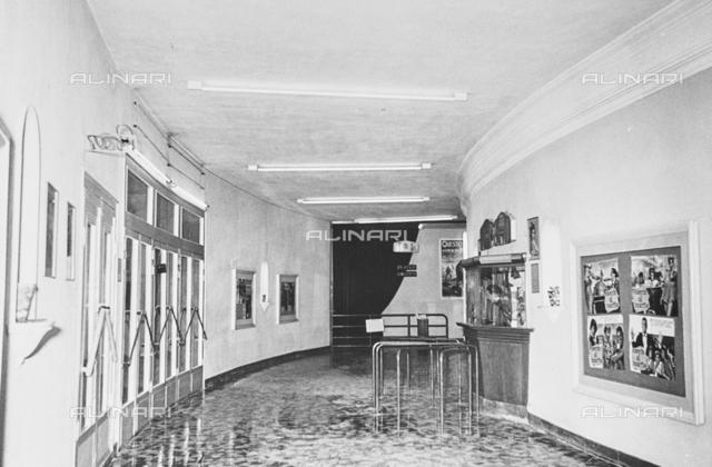 Interior of Cinema Odeon in Viareggio