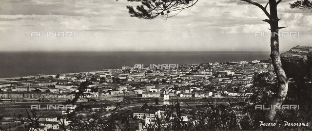 Panoramic view of Pesaro