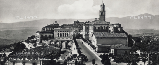 Panoramic view of Città Sant'Angelo, Pescara