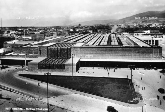 The new railway station of Santa Maria Novella