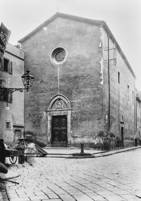 The Church of St. Barnabas in via Panicale in Florence