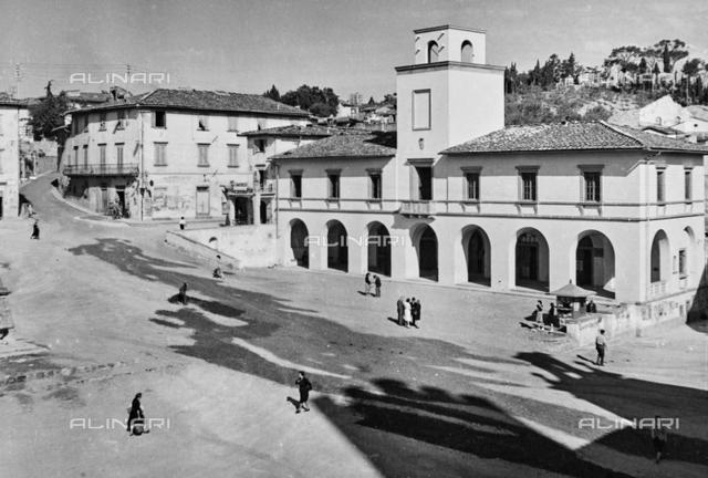 The Town Hall in Piazza Buondelmonti Impruneta