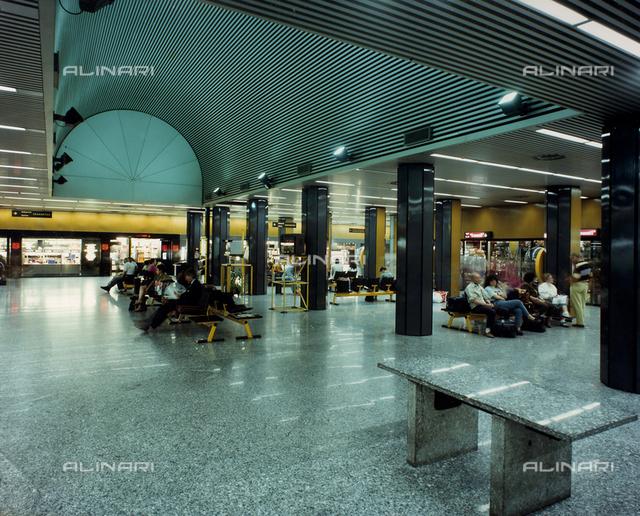 Interior of the Malpensa Airport, Milan