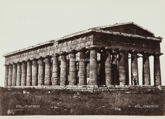 Temple of Neptune, or Temple of Poseidon, Paestum