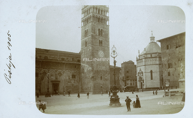 Baptistery, Piazza del Duomo, Pistoia