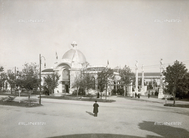 The Latin America pavilion at the Milan International Exposition of 1906