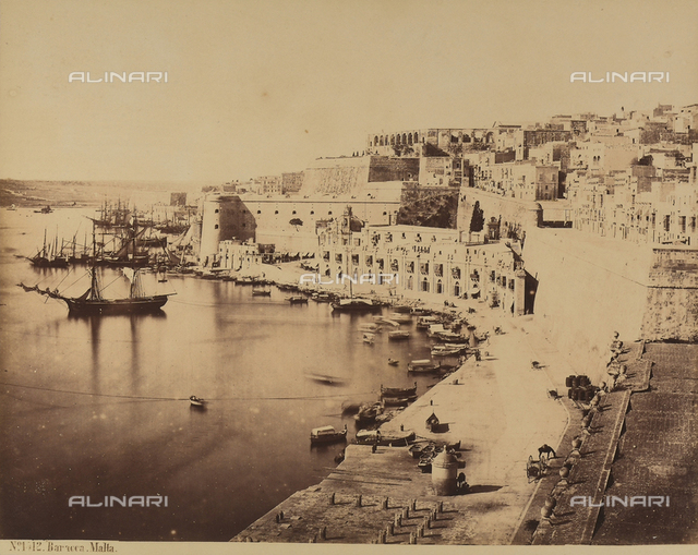 View of Valletta in Malta