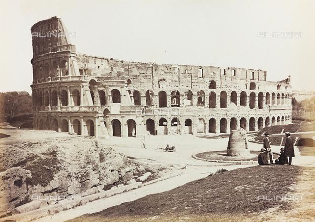 Flavian Amphitheatre or Colosseum, Rome