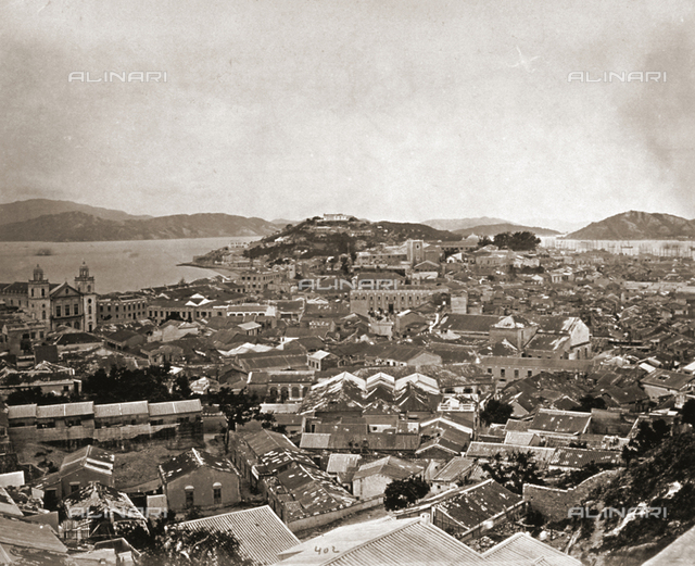 Panorama of the city of Macao