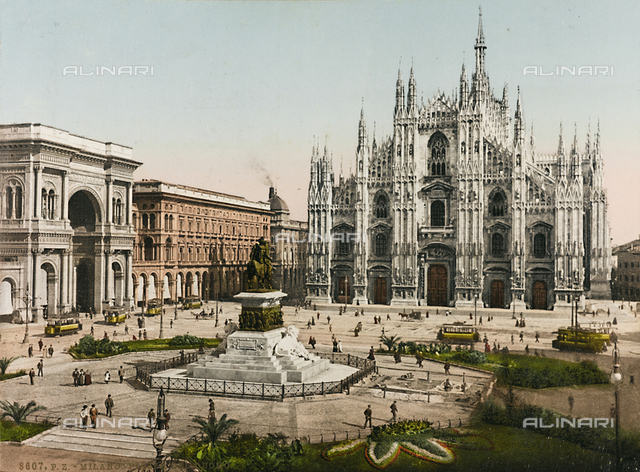 Cathedral faà§ade, Milan