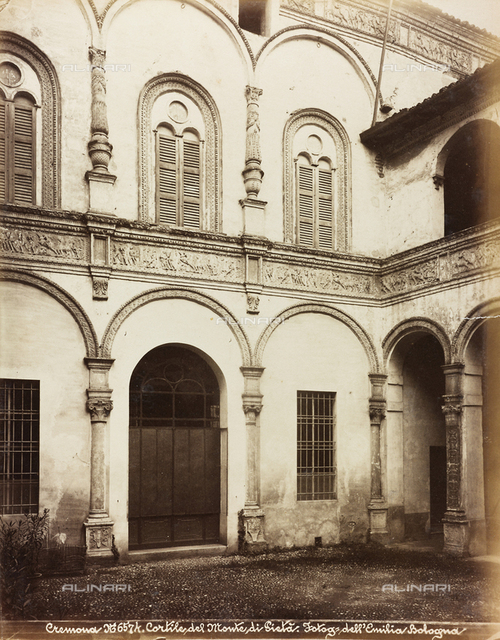 Courtyard, Santa Maria della Pieta' Hospital, Cremona