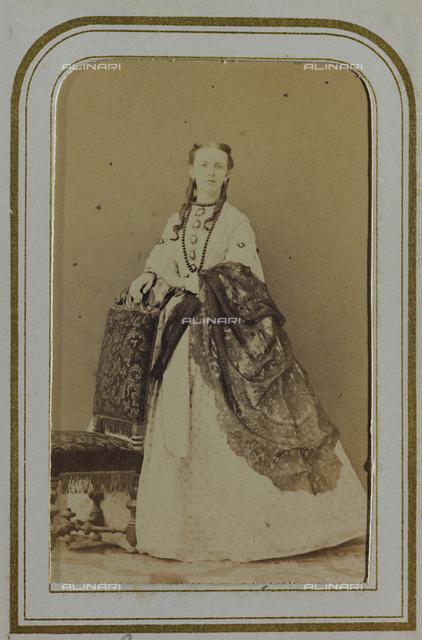 Portrait of the Countess Niccolini Guicciardini, carte de visite