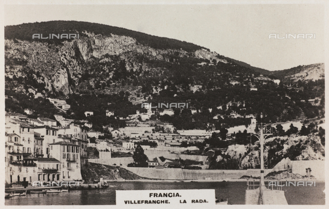 Panoramic view of Villefranche-sur-Mer