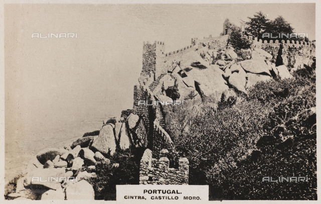 The castle of Dos Mauros in Sintra