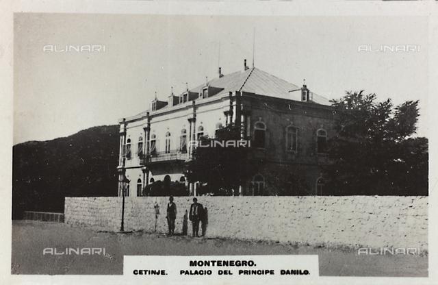 Palace of Prince Danilo in Cetinje