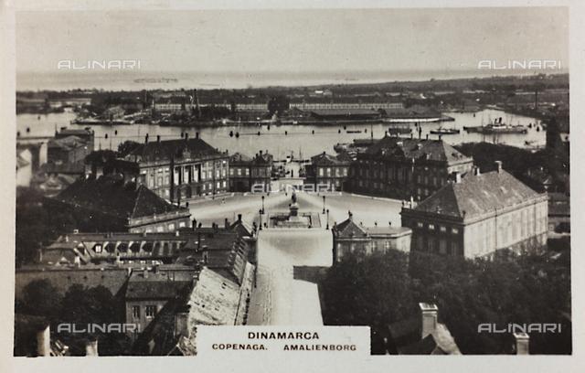 View of Amalienburg, Copenhagen