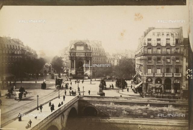 The Pont au Change in Paris
