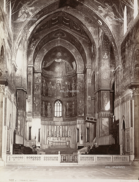 Interior of the Duomo of Monreale