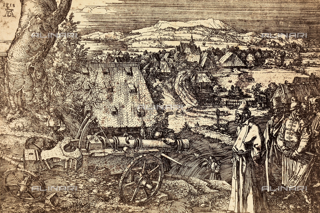 The Cannon by Albrecht Durer.