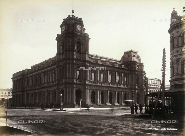 Post and Telegraph office, Melbourne, Australia