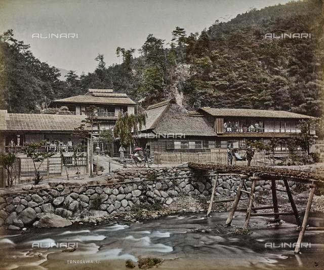 Lodging on Tonosawa, Japan