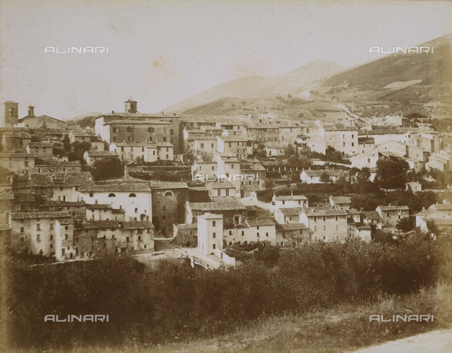 Panorama of Gualdo Tadino